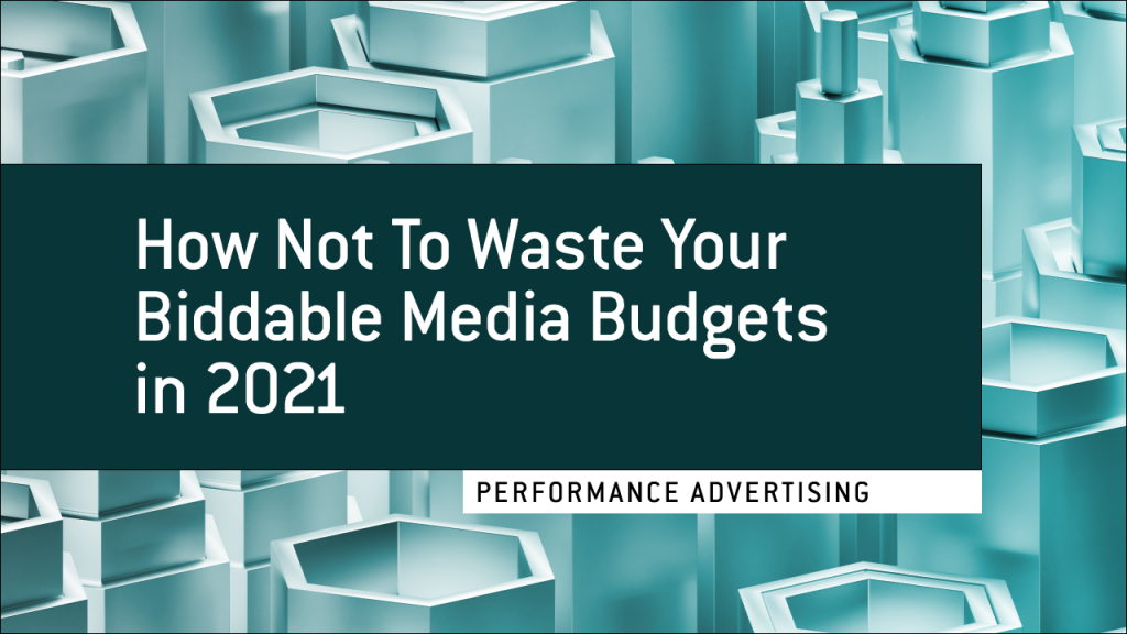 Tips for optimizing your media budgets in 2021