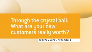 predictive CLV in performance advertising